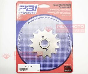 PBI - 344-14 -  Front Countershaft Sprocket, 14T - Made In USA
