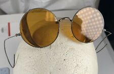 Antique Goggles Sunglasses Spectacles Vtg Steampunk Safety Glasses