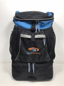 Blueseventy Triathalon Transition Bag Backpack Helmet & Wet Gear Compartments