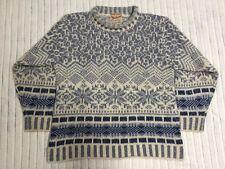 Women's Woolrich Hand Framed Wool Blend Sweater, Size S