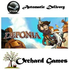 Deponia: PC MAC LINUX : (Steam/Digital) Auto Delivery