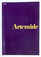 Design Arredamento - Catalogo Artemide 1990 - Lampade mobili e oggetti