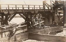 Tolmino cart. fotogr ponte militari - Tolmin Tolmein Slovenia Gorizia WW1 WWi