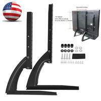 Universal Table Top TV Stand Leg Mount Holder Bracket for Flat LED LCD Screen