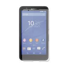 2 X Transparente Lcd Film Protector De Pantalla De Aluminio Saver Para Sony Xperia E4 Experia