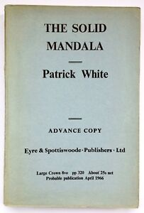 The Solid Mandala by Patrick White **U.K Uncorrected Proof**