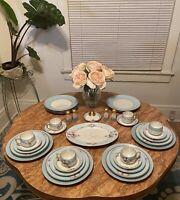 Altrohlau Czechoslovakia & Noritake Hand Painted Dinnerware Set