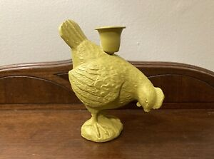 Green Chicken Candle Holder New Without Tags