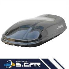 BOX AUTO da TETTO PORTATUTTO BAULE 400 NERO LUCIDO N8 MARLIN FARAD 160X80X40