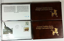 National Audubon Society Wildlife Conservation Stamps First Day Cover 1985 86 88