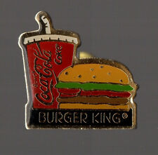 Pin's Burger King / Coca cola