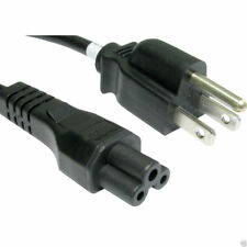 Power Cord - US/USA 3 Pin Plug to C5 Clover Leaf CloverLeaf Lead Cable 2m