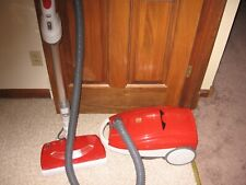 New listing Kenmore Progressive Power Nozzle Red Canister Vacuum Cleaner with Attachments
