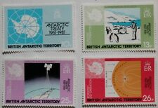 20th anniversary of the Antarctic Treaty stamps, 1981, SG ref: 99-102, MNH