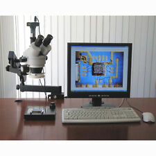 3.5X-90X Simul-Focal Articulating Zoom Stereo Microscope with 5MP Digital Camera