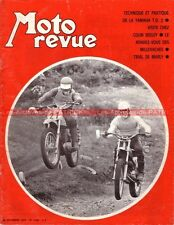 MOTO REVUE 2008 YAMAHA 250 TD2 ; Colin SEELEY ; Serge BACOU Denis PORTAL MZ 1970