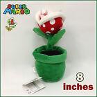 Super Mario Bros Plush Piranha Plant Soft Toy Nintendo Stuffed Animal Doll 8IN