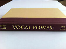 Vocal Power: Harnessing the Power Within by Arthur Samuel Joseph book and CD Set