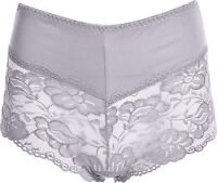 New Big Size Ladies French Lace Knickers Briefs Girls Boxer Short Sexy Underwear