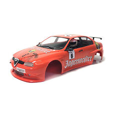 Fly Slot Racing Karosserie Alfa Romeo 156 GTA Jägermeister orange No. 6 1:32