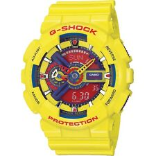 Brand New Casio G-Shock Hyper Colour Limited Edition GA-110A-9 Yellow Watch