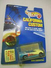 "Hot Wheels California Custom - ""BMW CONVERTIBLE"" - Mattel 1989 - #2100"
