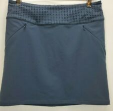 Title Nine Womens Genie Skirt Size 2 XS Gray Stretch Casual Athletic Above Knee