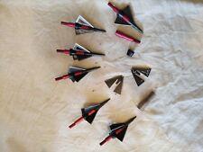 Vintage Broadhead Mint Missle Spike Red Fury 6 plus parts