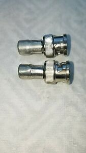 BNC 50 Ohm Termination ,TERMINATOR, 2 LOT) USA SELLER, FREE SHIPPING !