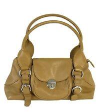 COCCINELLE Handtasche Schultertasche Leder Tasche Bag Braun (H40)