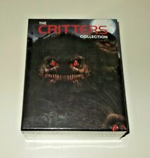 Critters Collection Blu ray Box set Region A Scream Factory New & Sealed 4 discs
