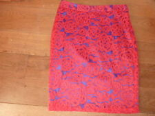 Viscose Knee Length Floral Petite Skirts for Women