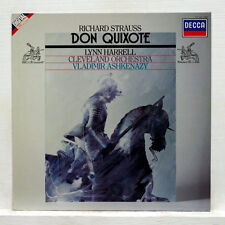 STRAUSS: Don Quixote > Harrell Cleveland Ashkenazy / Decca LP digital Holland NM
