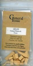 General Issue 1:35 German Soldier in Winter #1 Prone Resin Figure Kit #GI03
