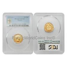 Greece 1876-A 10 Drachmai Gold PCGS AU53