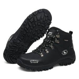 New Men Waterproof Hiking Shoes Outdoor Climbing Non-slip Camping Trekking Boot