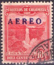 COLOMBIA - RARO FRANCOBOLLO DA 1 CENTAVOS - 1937 - SOVRASTAMPATO NEL 1953