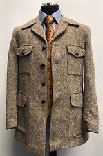 """MS1159 St Michael para Hombre Chaqueta Blazer Vintage tweed beige Talla 41"""" -42"""""""