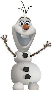 Disney Frozen Olaf Hanging Card Cutout Party Decoration - Birthday Celebration