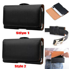 Belt Clip Holster Pouch Case Cover Leather Holder For iPhone 12 11 Pro Max XS 8