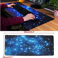 90x40cm Large Galaxy Gaming Mouse Pad Keyboard Mat Office Desk Mousepad UK