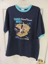 Vintage 1990s Walt Disney World Mickey Mouse T Shirt Ringer Trader Micks Size M