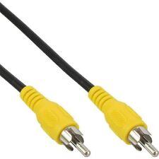 Câble vidéo composite RCA mâle / mâle  1.80m