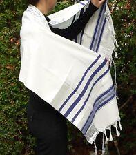 "Cheap Kosher Tallit Prayer Shawl 18x72"" Israel Men Women Boys Girls Tallis Talit"