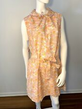 1970s pink floral Liberty Circle romper *deadstock* Nwt Volup Sz L Nwt