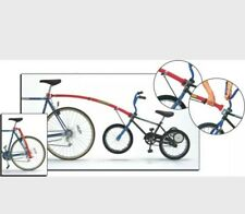 """Trail Gator Bicycle Towbar Childs 16"""" - 20"""" Wheel Tag Along Trailer RED"""
