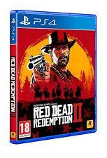 RED DEAD REDEMPTION 2 PS4 PAL ESPAÑA NUEVO PRECINTADO CASTELLANO ESPAÑOL  FISICO