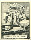 Germany Unloading customs supervision TOBACCO HISTORY HISTOIRE DU TABAC CARD 30s