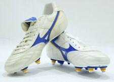 Mizuno objectivo SI Studded Retro Football Boots Pearl /Blue New Size 7's & 8