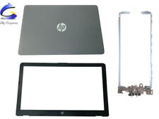 New For HP TPN-C129 TPN-C130 LCD Back Cover & LCD Front Bezel Cover & Hinges